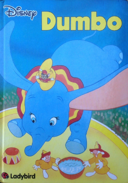 Ladybird DISNEY Book LARGE SIZE - Dumbo 1991 Hardback 1st Edition